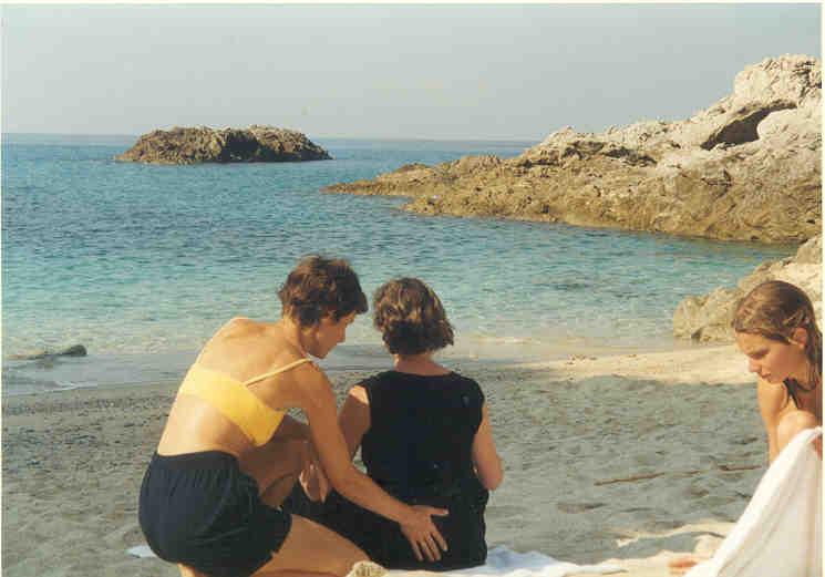 Nia an der Bucht